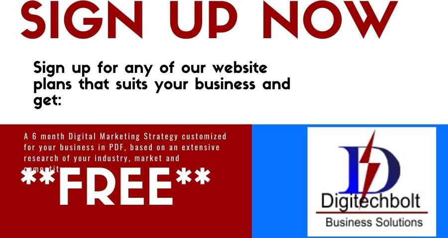 Website +Digital Marketing Strategy