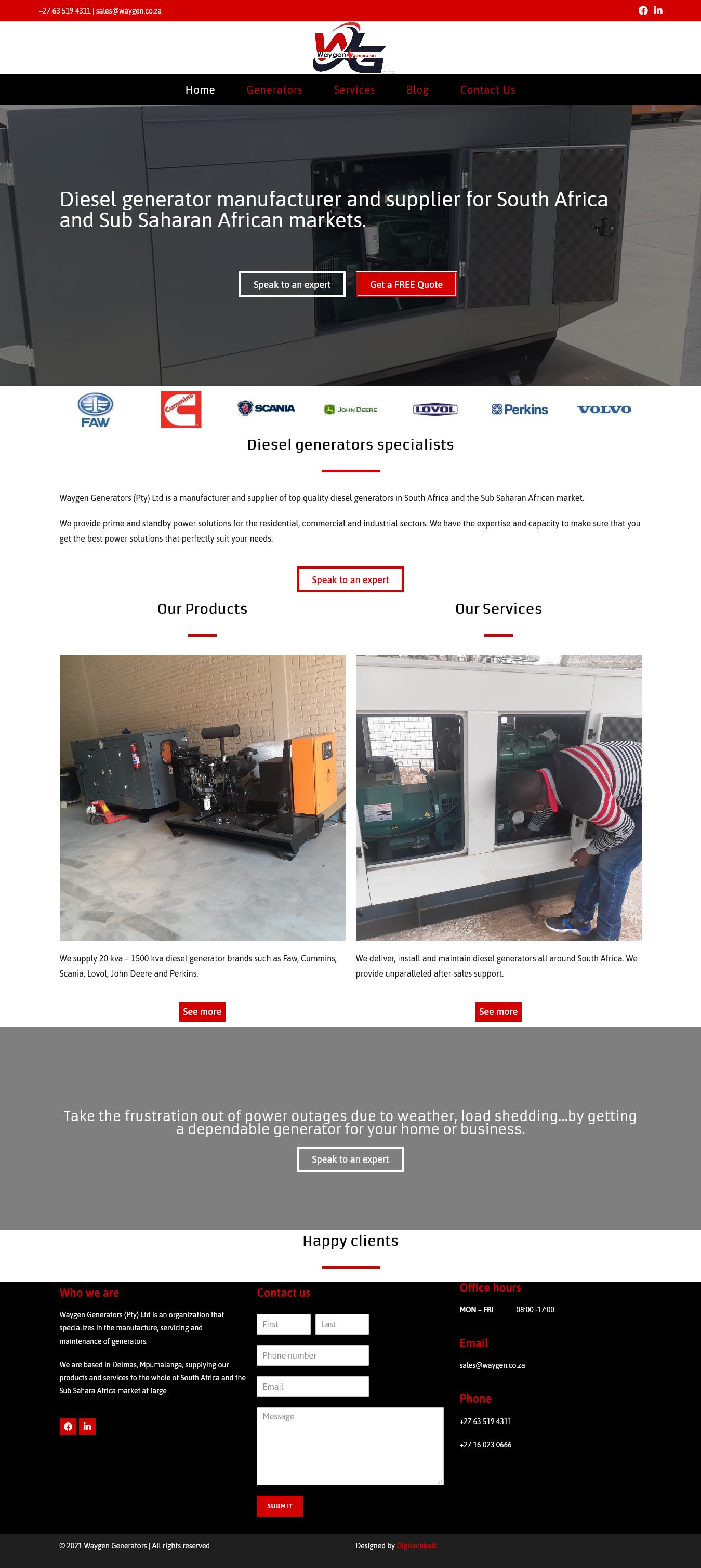 waygen generators 2