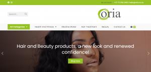 Oria online store designed by Digitechbolt