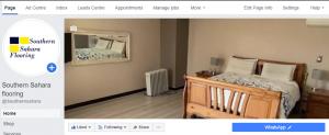 Southern Sahara Flooring Facebook page set up